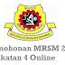 Permohonan MRSM 2017 Tingkatan 4 Online