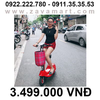 Xe điện mini E-Scooter gấp gọn khuynh hướng năm 2018