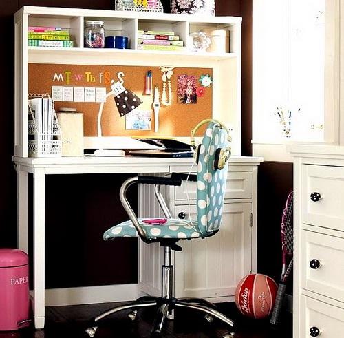 20 Home Office Designs For Small Spaces: Decora Y Disena: 17 Ideas De Cuarto De Estudio Para Chicos