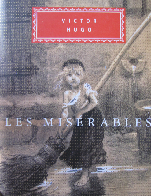 Les Miserables by Victor Hugo book cover