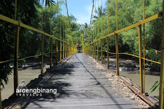 jembatan gantung karanggayam bantul yogyakarta