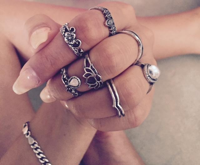 Trendige Ringe