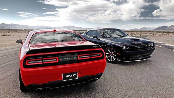 Wallpaper 5: Dodge Challenger SRT Hellcat 2015