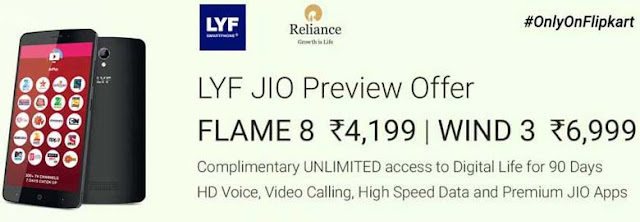 How to buy LFY Phone with JIO Preview Offer Online on Flipkart
