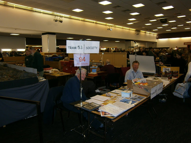 The 53 stand at bton Modelworld, with John Hayward and Ian Buck.