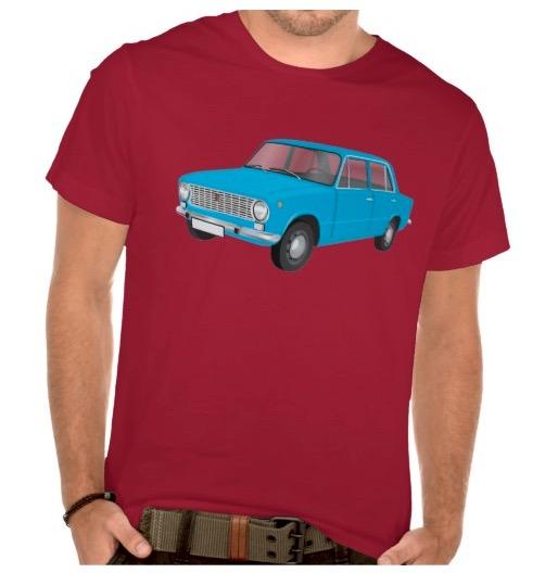 Fiat 124 t-shirts