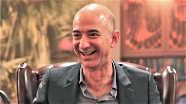 Jeff Bezos é o homem mais rico do mundo. Ganhou mais 12 mil milhões num só dia
