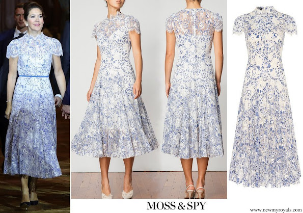 Crown Princess Mary wore Moss&Spy Elodie Dress