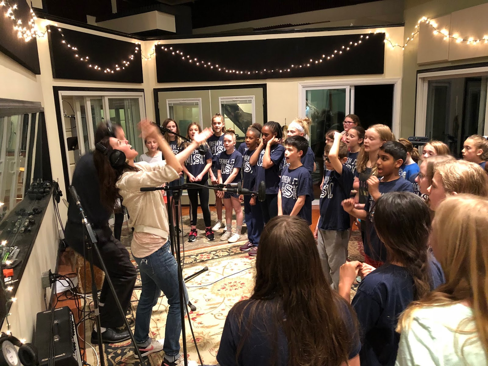 music with gina: Studio pics from 5/14!! What an incredible