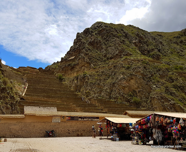 Sítio Arqueológico de Ollantaytambo, Peru