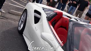 Ferrari 488 Spider Intake