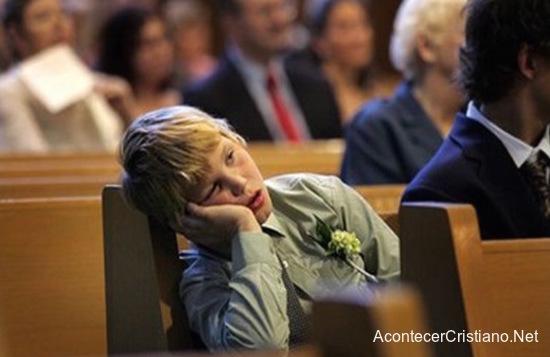 Predicación que aburre
