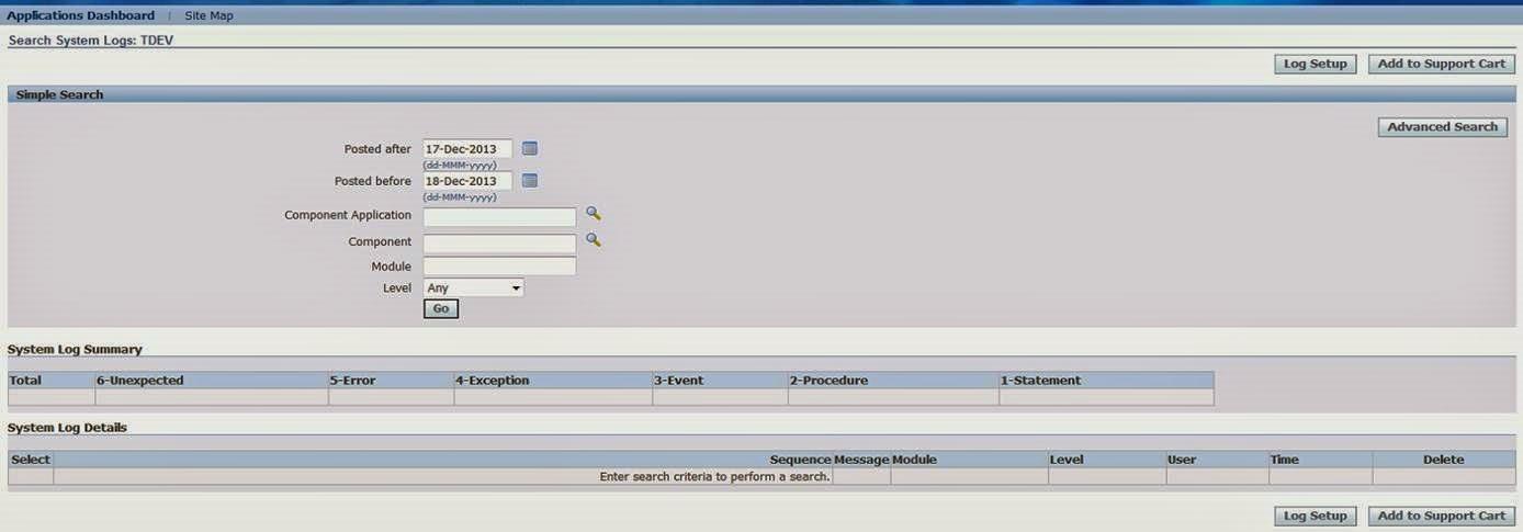 FND DEBUG / FND LOG MESSAGES : OracleAppsToday