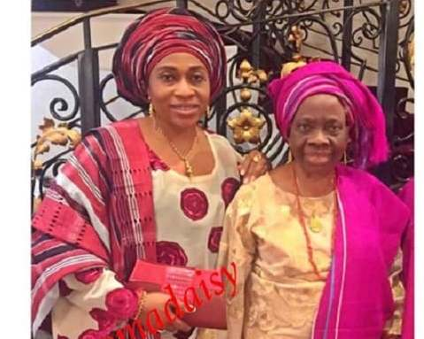 Olakunle Churchill shades Tonto Dikeh as he celebrates mum and grand mum on Mother's