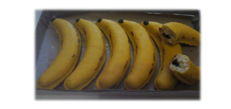Resep Banana Cake Khas Jepang: Resep Cara Membuat Bolu Panggang Bentuk Pisang Yang Enak