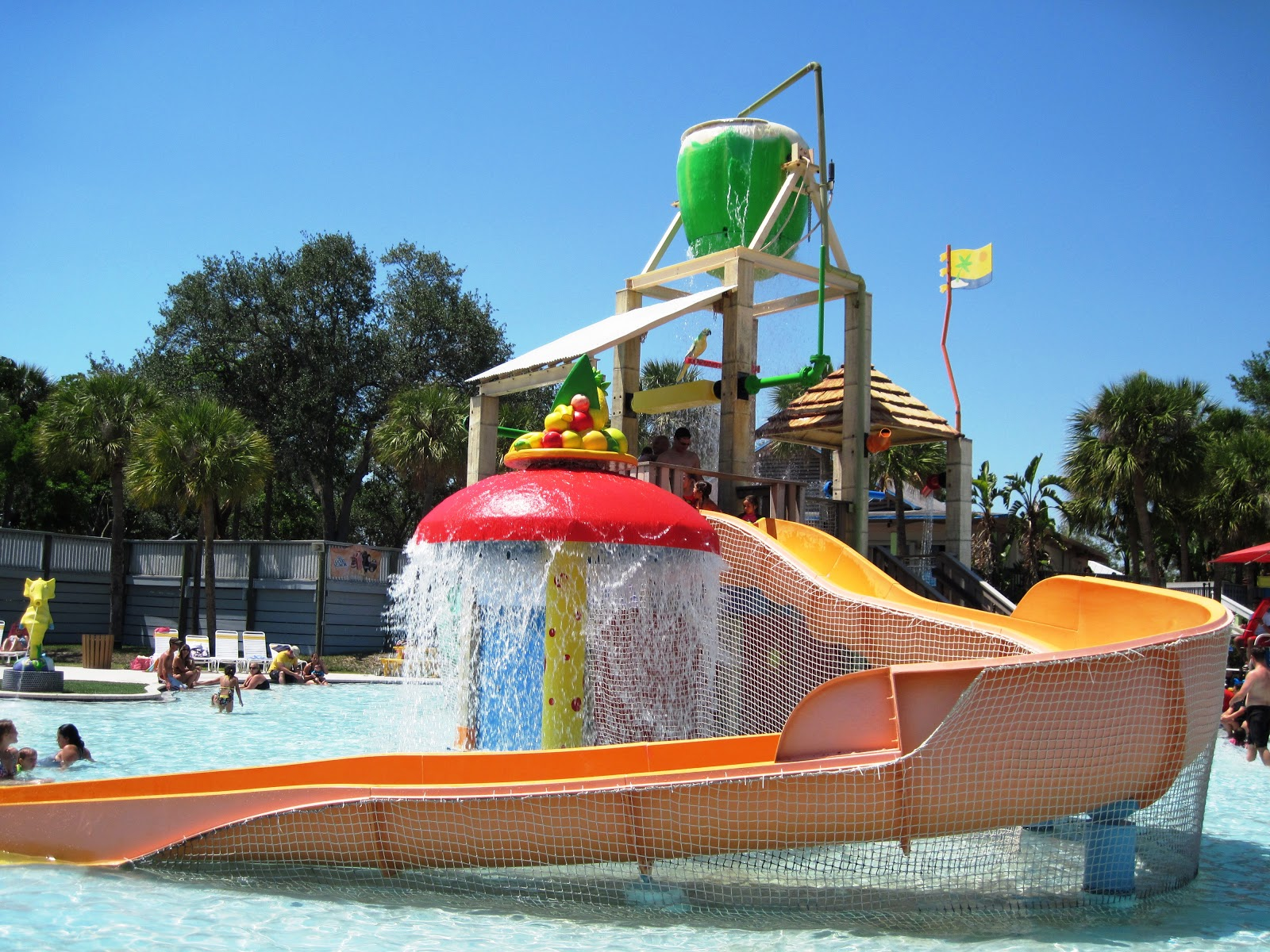 Paradise Cove Splash Park At C B Smith Park In Pembroke Pines