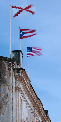 San Cristobal Castle flags