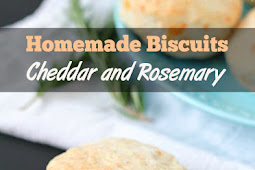 Easy Homemade Biscuits with Cheddar and Rosemary