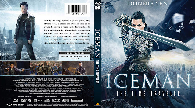 Iceman: The Time Traveller Bluray Cover