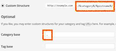 Remove Category for Wordpress