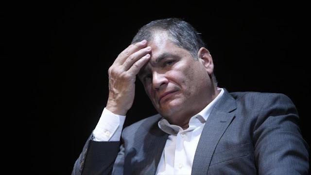 Correa niega haber buscado asilo en Bélgica