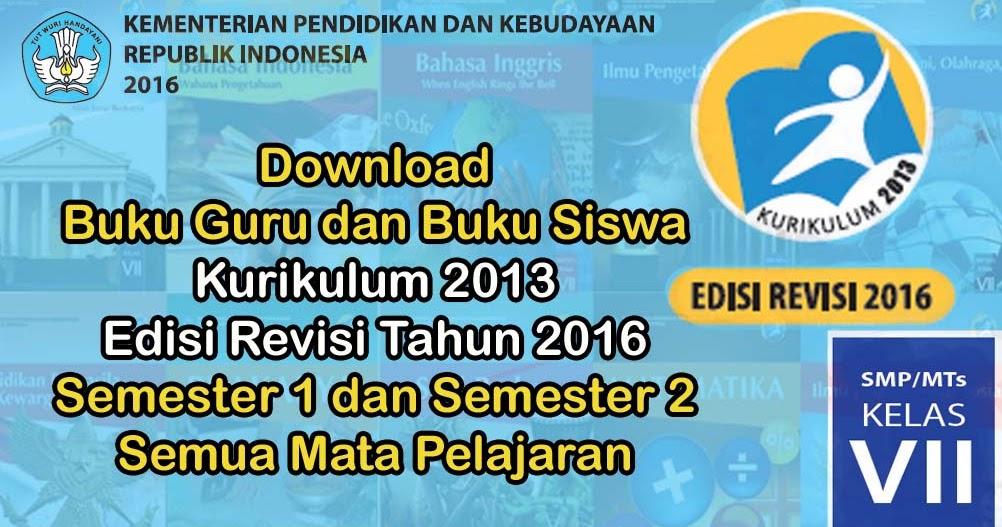 Buku Kurikulum 2013 SMP/MTs Kelas 7 Edisi Revisi 2016 ...