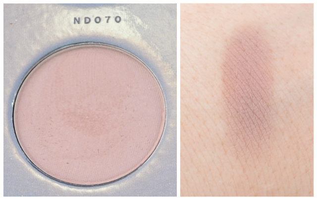 Zoeva nude spectrum Palette ND070 und Swatch