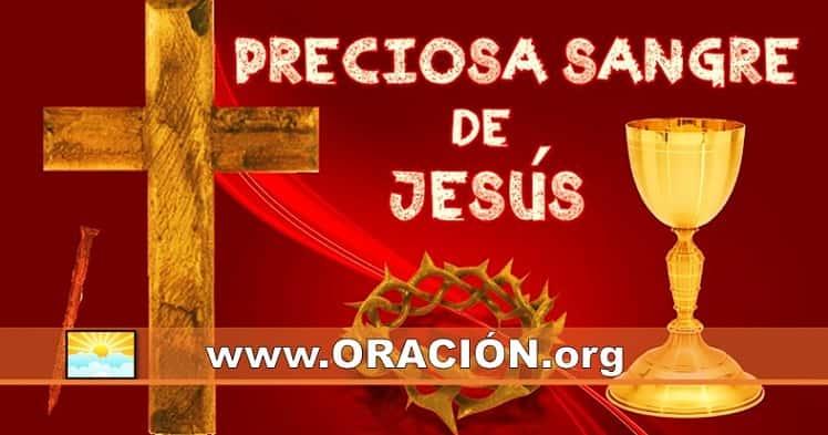 Poderosa Oración Sangre de Cristo para Protección