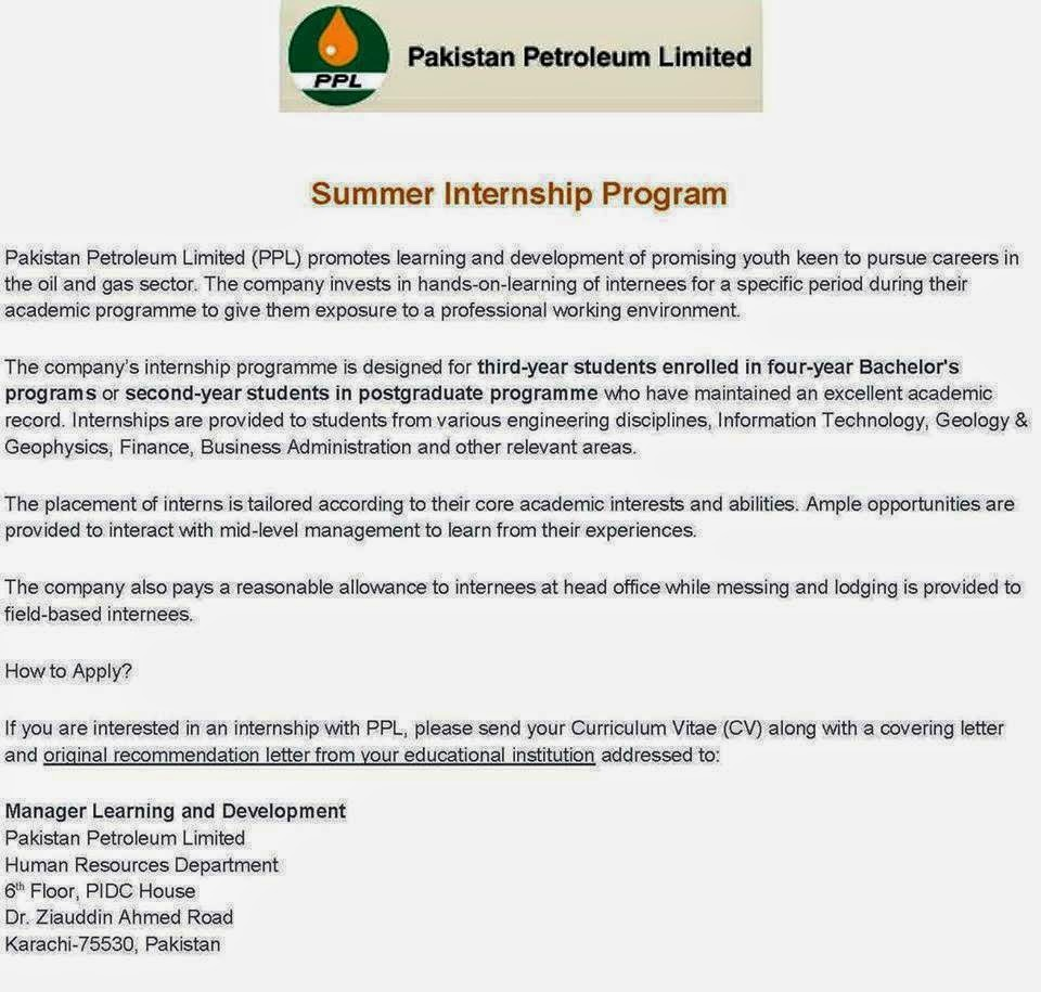 Cover letter for internship in petroleum engineering | Nots ...