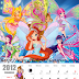Calendario Winx Club de este mes del blog