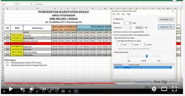gambar Cara Entri Nilai Rapor, US dan USBN dengan Cepat di Dapodik