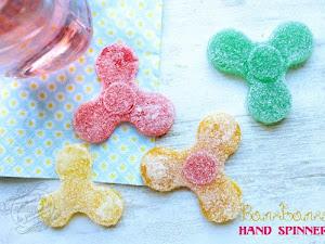 Le bonbon hand spinner maison ! { Hand spinner comestible }