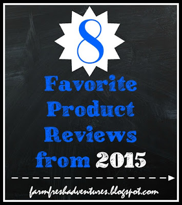 8 Favorite Product Reviews for 2015