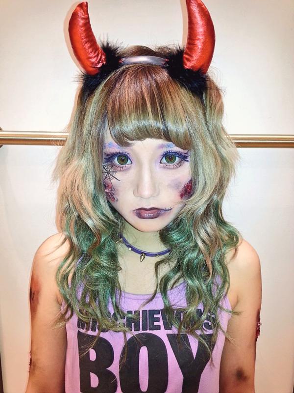 halloween gyaru inspirations