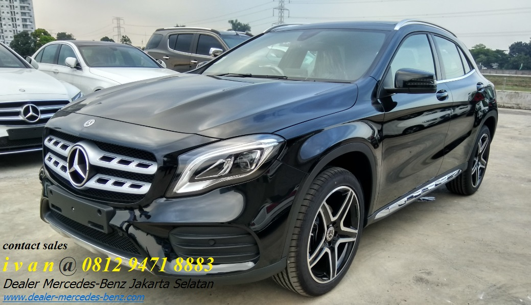 Harga spesifikasi mercedes benz gla class 2018 dealer for Dealer mercedes benz
