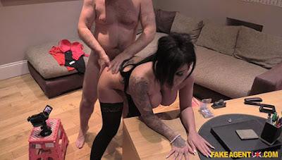 Candy Sexton (Big Tits British Babe Gets Creampie) – FakeAgentUK