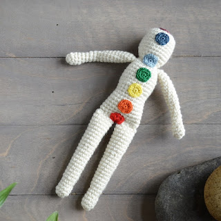Reiki Doll by Over The Apple Tree