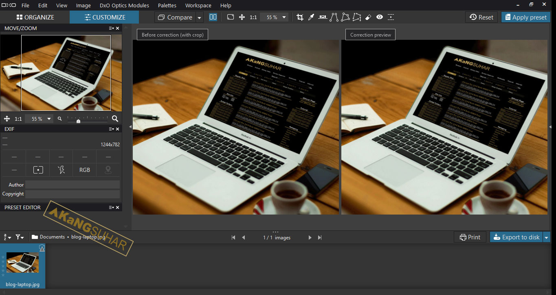 Download DxO Optics Pro Full Version Terbaru