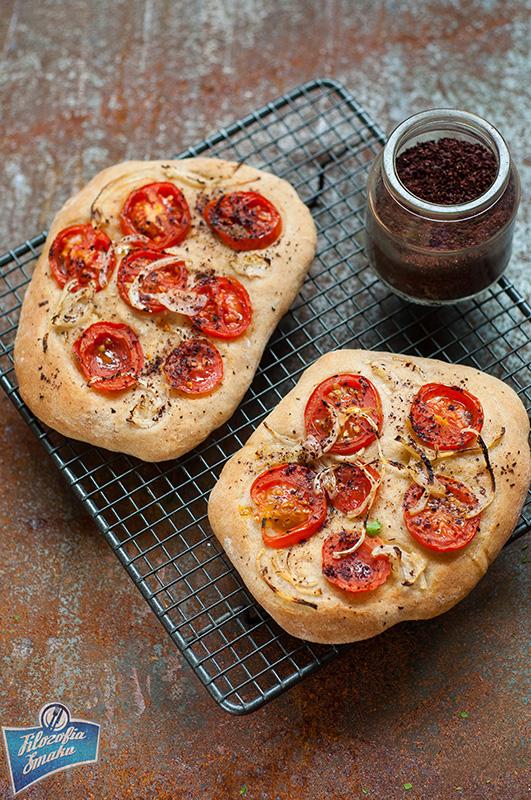 Chlebki z sumakiem