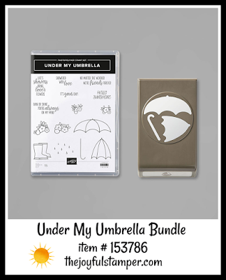 Stampin' Up! Under My Umbrella bundle | Nicole Steele The Joyful Stamper