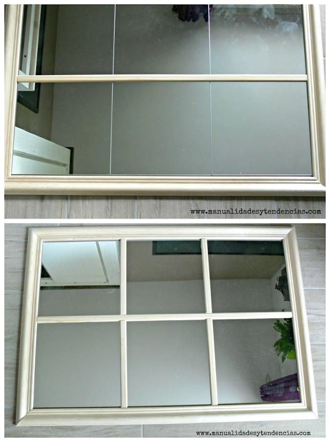 Cómo hacer espejo tipo ventana