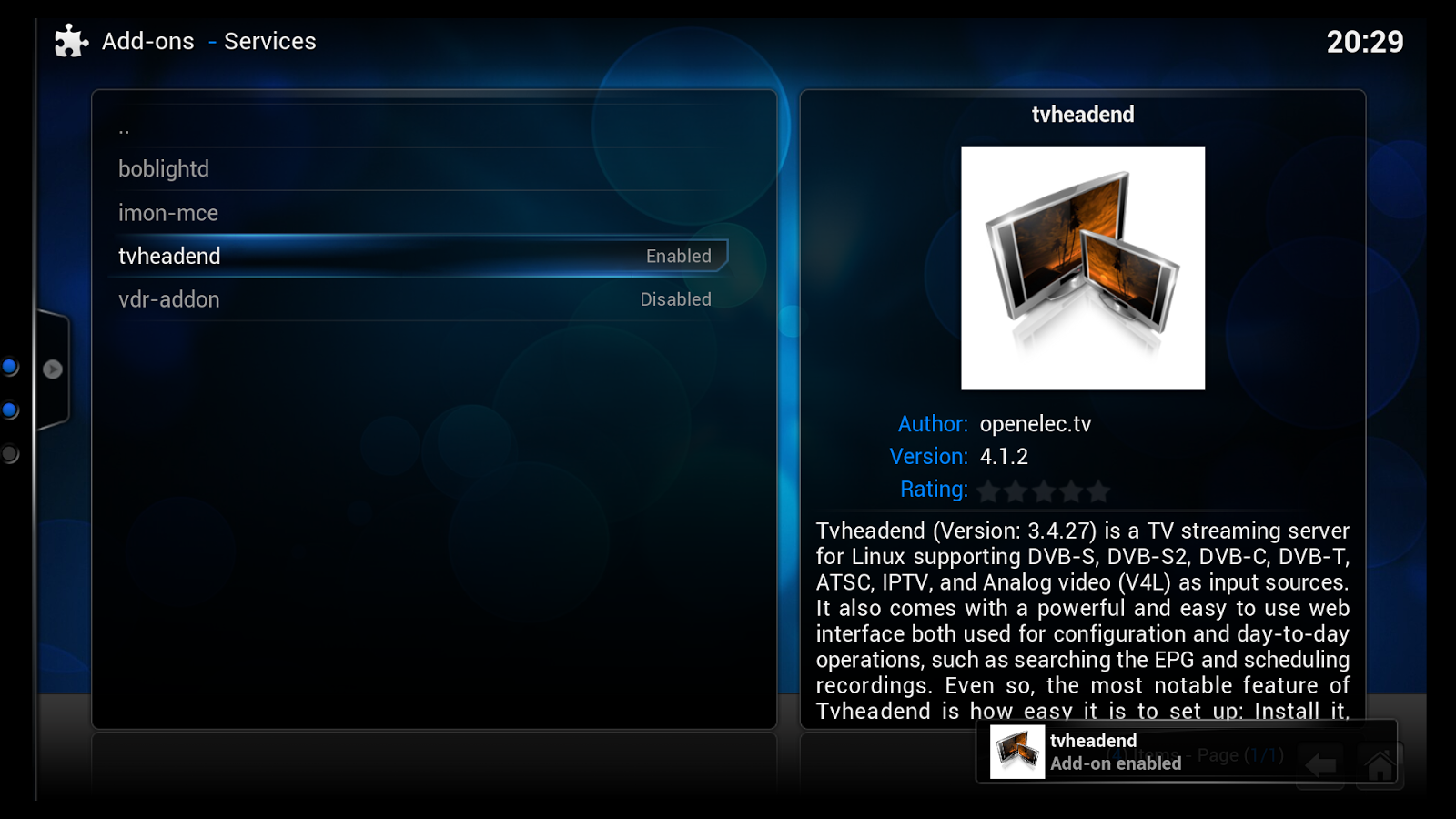 The NUC blog: Enabling Live TV in XBMC/OpenELEC