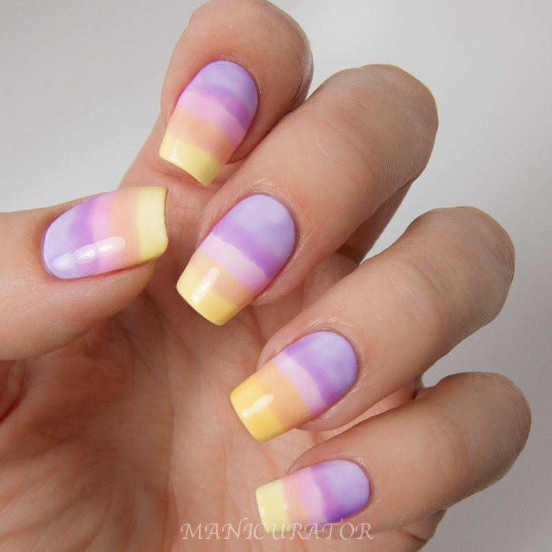 OPI Sheer Tints Summer Gradient for The Lacquer Legion On ...