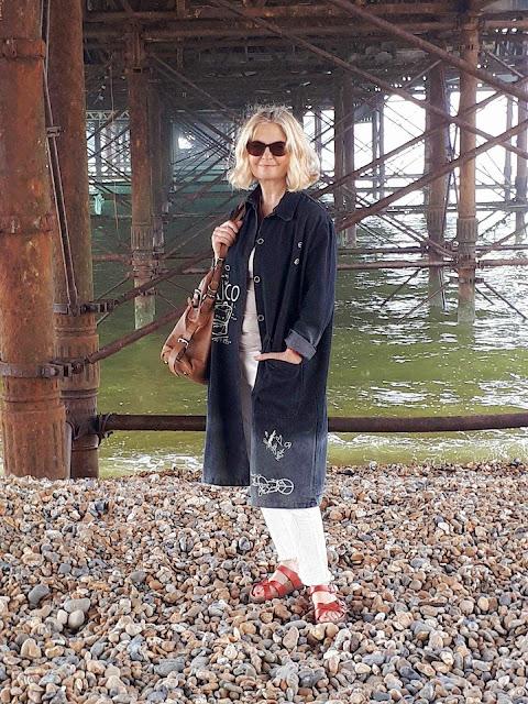 image showing Eva Trends shirt dress