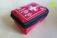 Tasche Seite: ORA-TEC 32-teiliges Erste-Hilfe-Set im praktischen Etui mit Gürtelschlaufe