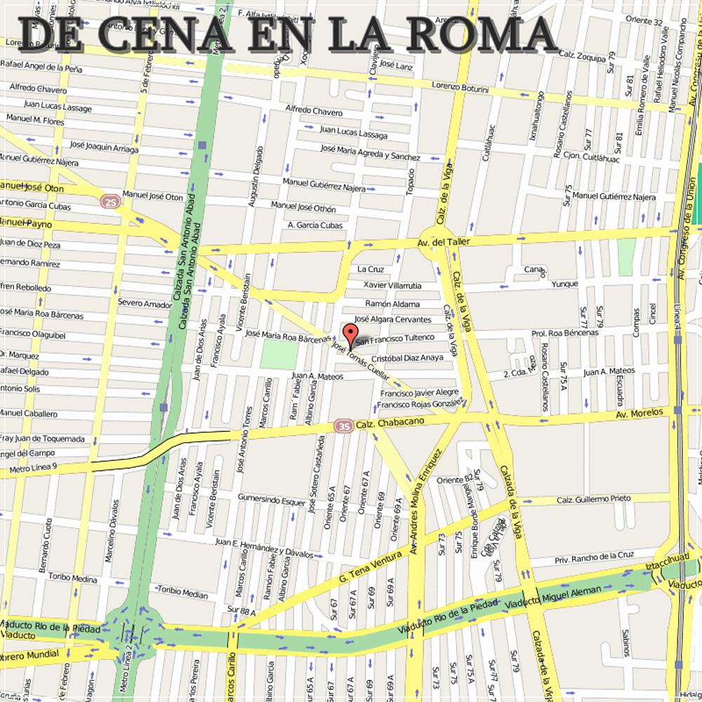 Nos vamos de cena a La Roma, una zona de moda en México DF