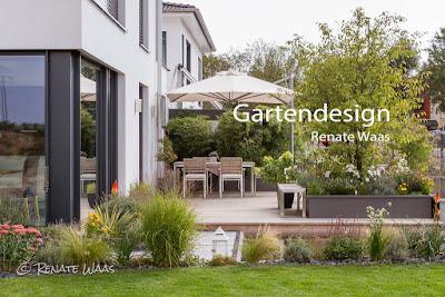 Gartendesign und Gartenplanung Renate Waas. Naturnaher, moderner Stadtgarten #garten #gartendesign