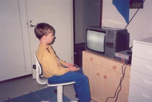 La primera vez que vi una consola de Videojuegos