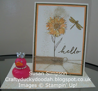 Stampin' Up! Susan Simpson Independent Stampin' Up! Demonstrator, Craftyduckydoodah!, Touches of Texture,