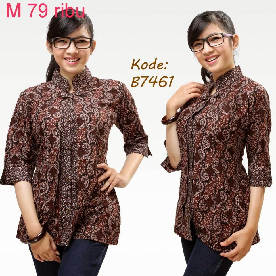 Contoh Model Baju Batik  Model Baju Batik